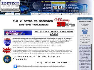 IDetect Scanner Web Designing