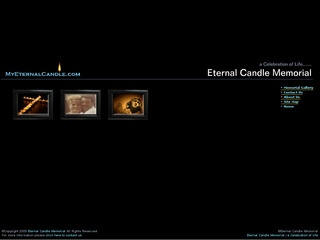 My Eternal Candle Website Designers