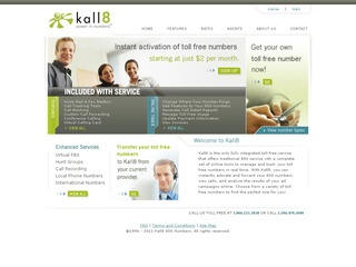 Great Kall8 Web Designing